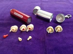 耳栓の写真
